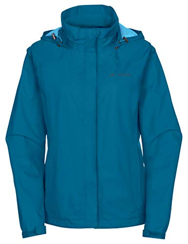 VAUDE Damen Escape Bike Light Jacke, Kingfisher, 38