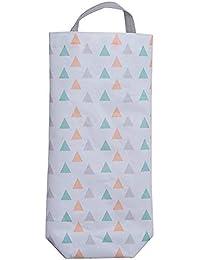 Soporte para bolsas de plástico, soporte de pared, dispensador de bolsas de alimentos,