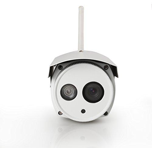 Foscam FI9803P 5Drahtlose IP-Kamera, HD, Weiß, 1Megapixel