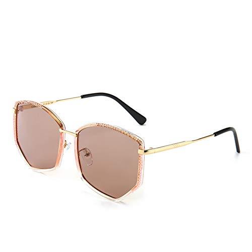 Sonnenbrillen UV-beständiges, polarisiertes, hochwertiges Metall ist leicht und langlebig und eignet Sich für Reisen und Autofahren