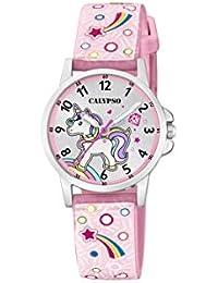 Calypso Watches Reloj Analógico para Unisex Niños de Cuarzo con Correa en Plástico ...