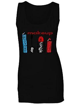 La señora compone la novedad divertida del amor camiseta sin mangas mujer f396ft