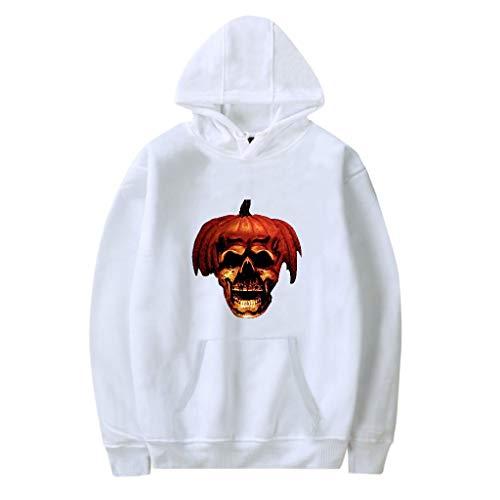 KUKICAT Jacke Herren Halloween Mode Paar Halloween Print Hoodie