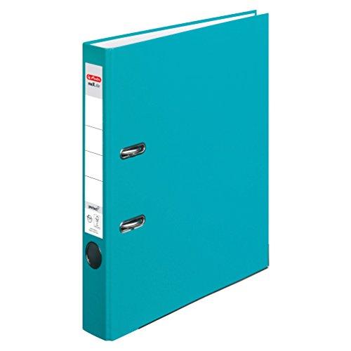 herlitz-11416088-ordner-maxfile-protect-a4-5-cm-mit-einsteckruckenschild-5er-packung-fsc-mix-turkis