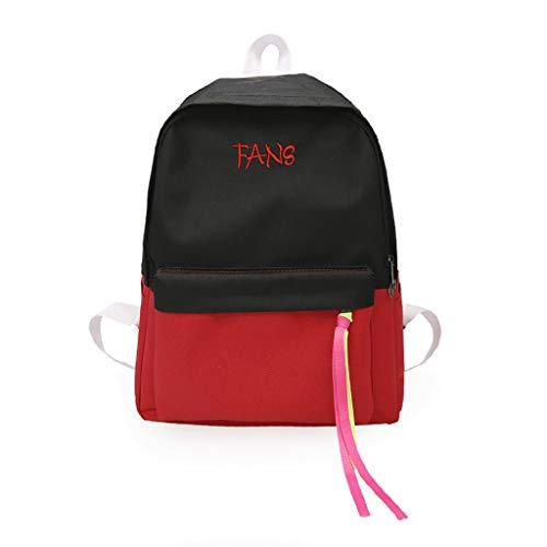 Trendy Doppel Schulter Rucksack Für Sowohl Männer Und Frauen Modische Oxford Tuch Tasche Freizeit Kunst Einzigartige Große Rucksack Online Rabatt Gepäck & Taschen