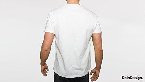 Herren T-Shirt Spruch Statement Rebell Weiß