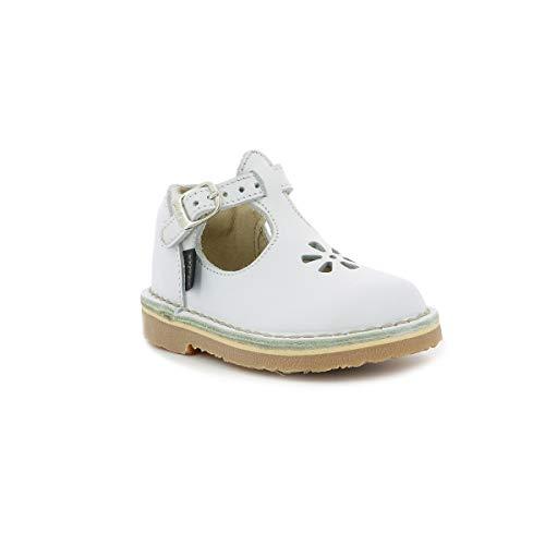 Aster 618990-10, Baby Jungen Babyschuhe - Lauflernschuhe, Weiß - weiß - Größe: 25 EU