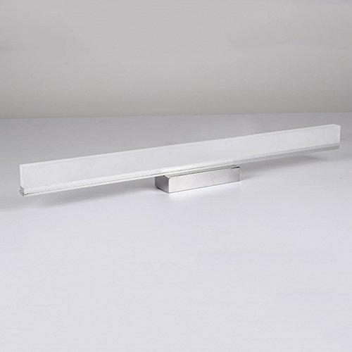 XUERUI Lampe De LED, 7W-14W Lumières Blanches Chaudes De Salle De Bains, Conducteur D'EMC, 40-100CM X 7CM X 4.5cm, Énergie Savin (Couleur : Blanc, taille : 100cm)