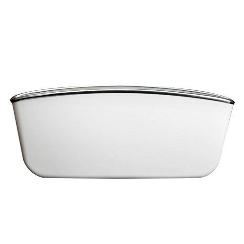 Sonnenbrille Weißen Mit Seiten (Dosige 2 Stück Auto Aufbewahrungsbox Car Seat Seiten-Schlitz-Taschen Aufbewahrungsbox Auto Ablagenetz size 30*11*5cm (Weiß))