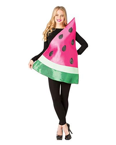 Kostüm Einfache Gruppe Genial - Horror-Shop Melonenscheibe One Size Kostüm für Karneval und Halloween