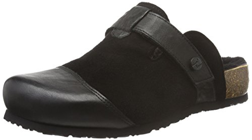 Think Damen Julia Clogs, Schwarz (SZ/Kombi 09), 42 EU