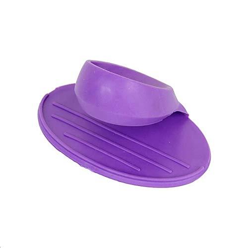 ZhiWeiZhao Ofen Mini Mitts Hitzebeständige Topflappen Platte Clip Silikon Topflappen Küchenhelfer Isolierung Anti Verbrühung Kochen Prise Griffe -