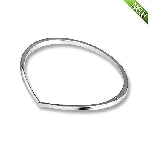 PANDOCCI 2019 frühling glänzende Wunsch armreif 925 Silber DIY passt für original Pandora armbänder Charme modeschmuck (16CM)