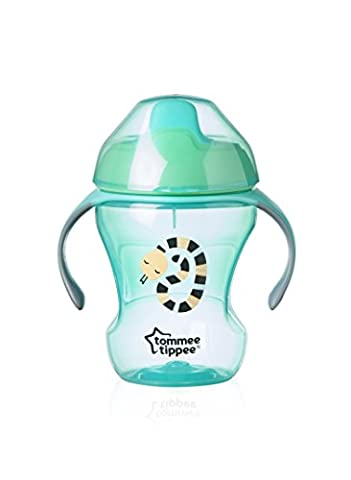 Tommee Tippee Tasse à Bec Easy Drink pour Garçon Vert 7-12 mois