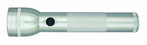 Preisvergleich Produktbild Mag-Lite ST2D106 2 D-Cell Hochleistungs-LED Stab-Taschenlampe, 25 cm silber für 2 Mono Batterien