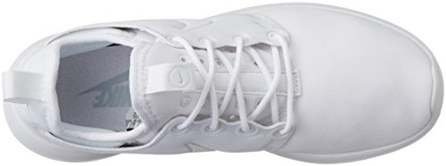 Nike W Roshe Two, Chaussures de Running Entrainement Fille Blanc (White/White/Pure Platinum)