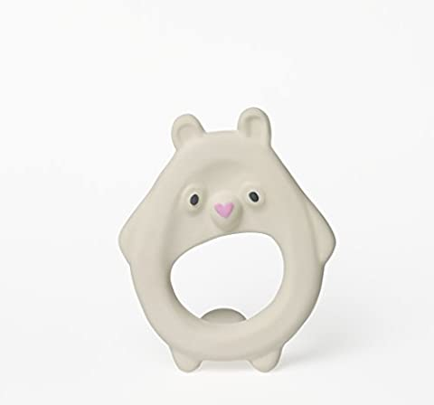 Cloud & Cuckoo My Friend Goo, A handmade & lightweight natural rubber teether for babies and small children