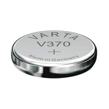 VARTA pile oxyde argent pour montres V370 (SR69) 1,55 volt