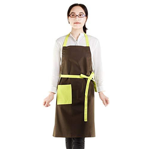 apronzhu Schürze Süße Küche Haus Schürze Arbeit Paar Service Stieg Roten Anzug