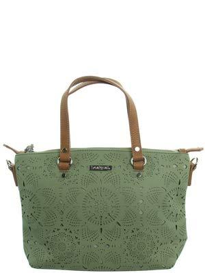 Desigual Cronos Gela Across Body Bag Verde Clean...