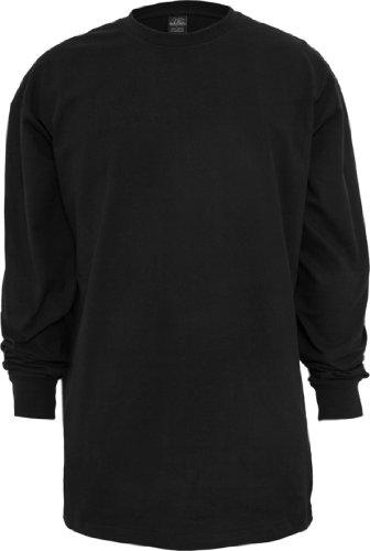 Urban Classics Uomo tb009Tall T Shirt manica lunga T shirt Black XXXXL