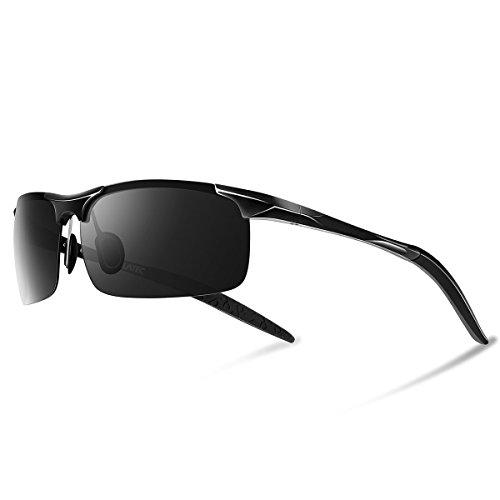 lunettes de soleil homme Lunettes de soleil pour homme Polarized UV400 Sports Lunettes de soleil pour Outdoor Sports Ride Driving Golf Pêche Running Skiing Escalade Randonnée Driving Convient pour les h9ig1GW5VQ