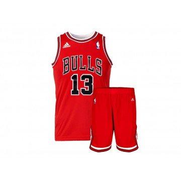 Mini-Kit Basketball Adidas NBA Chicago Bulls. af7b15f970cb