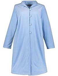 8c5863ddc044fc Ulla Popken Damen große Größen bis 62+ | Bademantel | Homewear | Fleece |  Knopfleiste