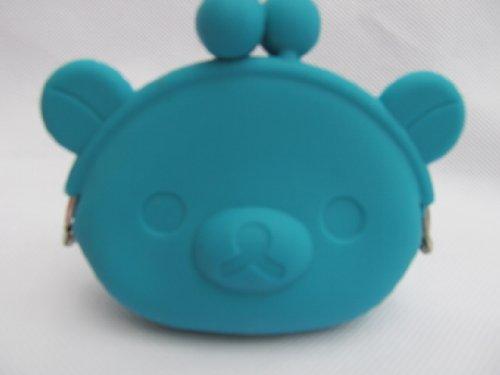 Cute Hell Neon 4-farbig Damen Mädchen Hof Schwein Animal Geformt Silikon Modisches Portemonnaie Münzbörse Tasche mit ohren versand von London by Fat-catz turquoise pig silicone purse