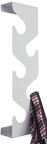 J-me JMWAVES Porte-manteau Vague Argent 58x8x16.5 cm