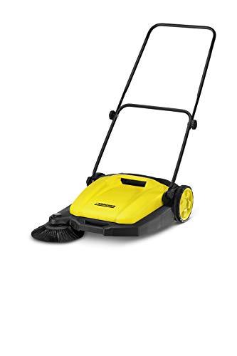 Kärcher s 550 - spazzatrice, resa per 1.600m²/h, capacità del vano raccolta 16 l, archetto di spinta ergonomico e regolabile, una spazzola laterale