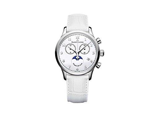 Maurice Lacroix Les Classiques Phases de Lunes Ladies Quartz Watch, Chronograph