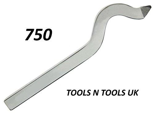 Di alta qualità in argento 750carati a collo di cigno con anello/timbro punch jewelers tool