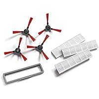 Vileda 160885 - Kit de Recambio de cepillos Laterales y filtros para Robot Aspirador VR 102
