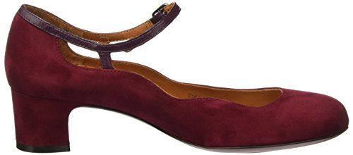 Chie Mihara Nansta, Scarpe Col Tacco Donna Rot (Granate-Grape)