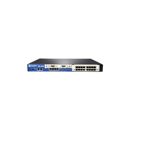 Juniper SSG-320M-SH Secure Services Gateway 320M Base Memory HW Security and ScreenOS with AC Netzteil -