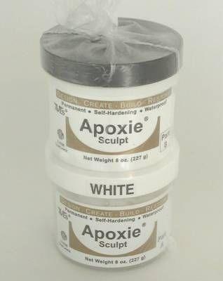 Aves - Apoxie Sculpt Modelliermasse - 450g (weiß)