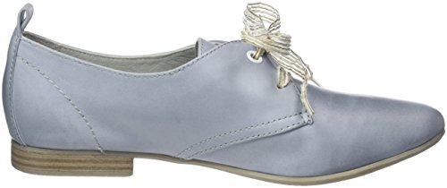 Be Natural 23201, Oxfords Femme Bleu (Sky 833)