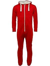 ba8eb260257bae Amazon.co.uk: Red - Onesies / Nightwear: Clothing