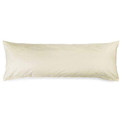 4Home 207685Pillow Case, Coton, crème, 150x 50cm