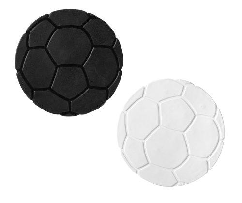 Ridder 696900-350 Mini Dusch- und Badewanneneinlage XXS Fußball, schwarz / weiß