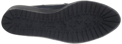 Clarks Marcelle Game, Boots compensées femme Noir (Black Interest Leather)