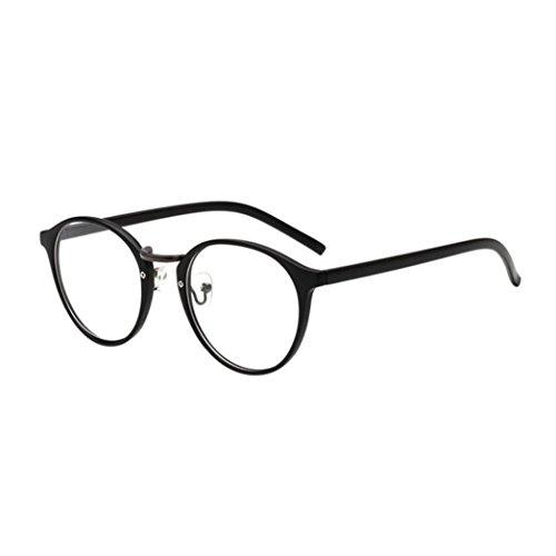 Dragon868 Katzenauge Metall Rand Rahmen Unisex Classic Metallrahmen Spiegel Abgerundete Gläser Women Sunglasses (D)