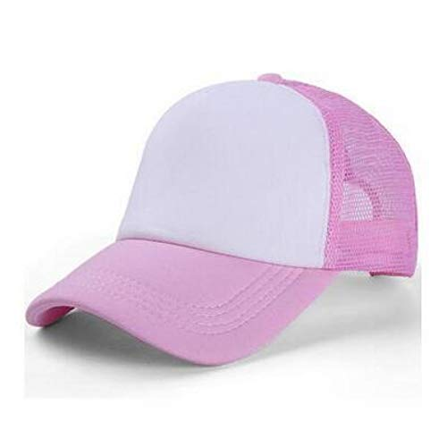 YPORE Parent-Child Baseball Cap Women Men Solid Caps Female Casual Hat Trucker Mesh Blank Visor Child Baseball Hat Blank Trucker Hats