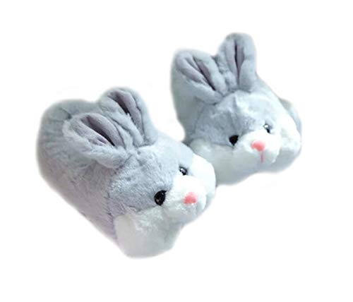 Animal Slippers Rabbit Slippers Winter Warm Home Slippers Shoes Shark Shoes Rabbit Shoes