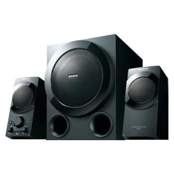 Sony SRS-D9 2.1 Multimedia Speaker System (Black)