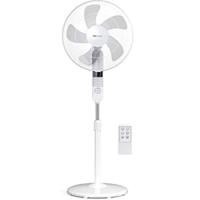 Pro Breeze Premium Fans with Timer, Remote Control and Oscillation