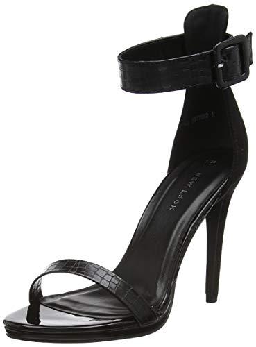 New Look Yippy, Scarpe con Cinturino alla Caviglia Donna, Nero (Black 1), 38 EU