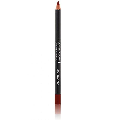 Jordana Longwear Lipliner Pencil 02 Rich Rouge by Jordana Cosmetics