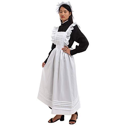 GRACEART Damen Plymouth Pilger Kostüm (Large, Reine - 1800 Kleid Kostüm